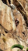 Rock Climbing Photo: Andrew Roberts on The Transmigration Corner!