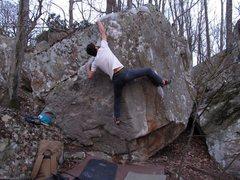 Rock Climbing Photo: Finishing Nap Comp