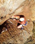 Rock Climbing Photo: Upper section of Bemo's Corner!