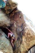 Rock Climbing Photo: JR TRing Fist Full of Dollars.