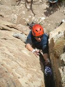 Rock Climbing Photo: Is that a #5 at Shelf Rd!?