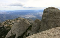 Rock Climbing Photo: From the top of Gorra Frigia, from the left: Gorra...