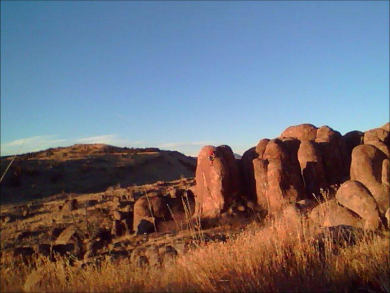 Rock Climbing Photo: Nephi Boulders