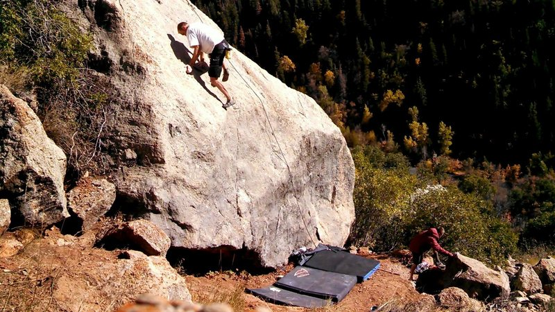 Big Dipper, Asteroid Boulder, Hobble Creek Canyon
