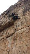 Rock Climbing Photo: Six Shooter @ Jacks Canyon, AZ