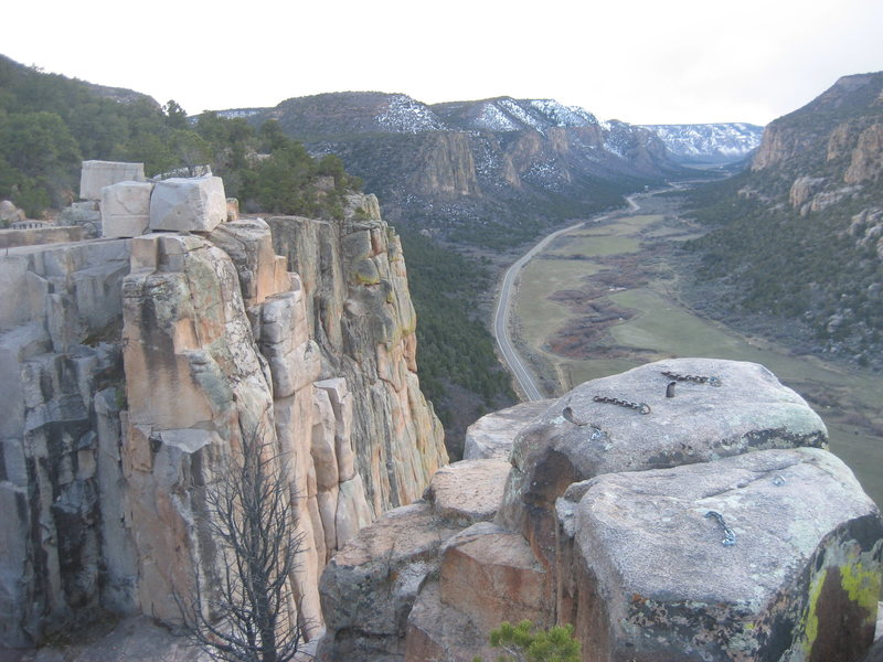 Unaweep Canyon, Colorado. Spring Break. March 26-29th 2014. With Mike C. and Doug D.<br>