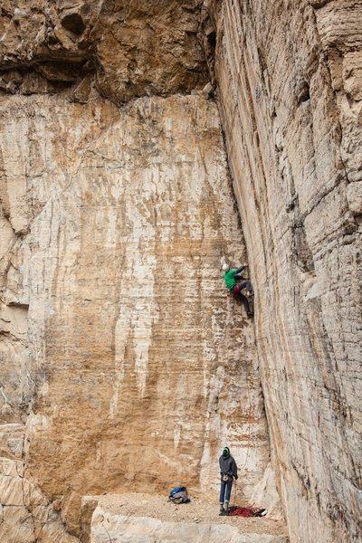 Rock Climbing Photo: Photo by Jonathan Vickers