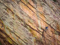 Rock Climbing Photo: Trevor Bowman on South Crack.