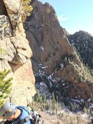 Rock Climbing Photo: One more view of the technical part of the ridge, ...