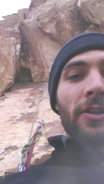 Rock Climbing Photo: Ledge was still missing a bolt in March 2014, but ...