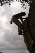 Rock Climbing Photo: CJ