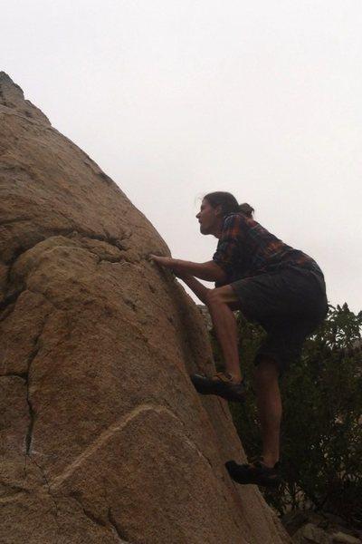 Rock Climbing Photo: Please