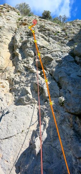 Rock Climbing Photo: Pocas pilas
