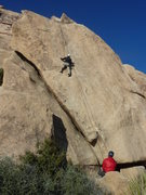 Rock Climbing Photo: Toprope