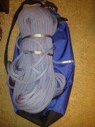 Rock Climbing Photo: rope w/ bag