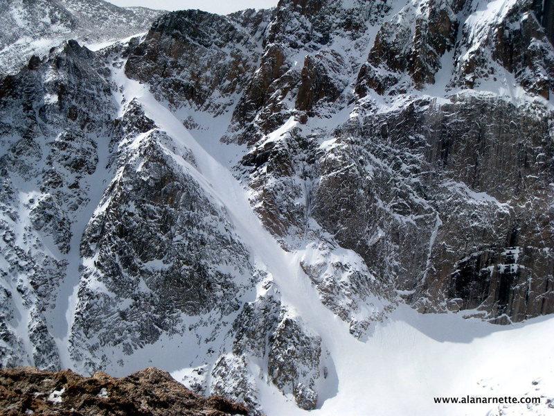 Rock Climbing Photo: Lamb's Slide.
