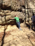 Rock Climbing Photo: Enjoying some sun at Bruise Brothers wall in Muir ...