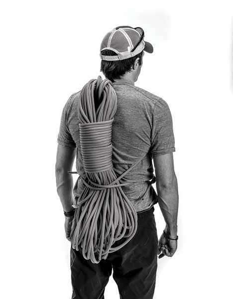 The perfect backpack rope coil
