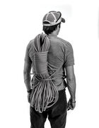 Rock Climbing Photo: The perfect backpack rope coil