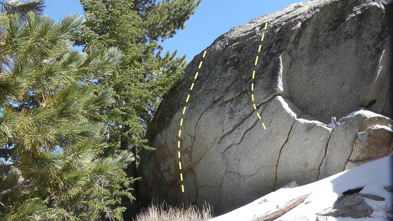 Rock Climbing Photo: Deception Boulder