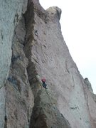 Rock Climbing Photo: Q and Jesse B on Holy Road