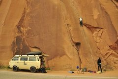 Rock Climbing Photo: Only 2wd, but it's taken me down some sketchy road...