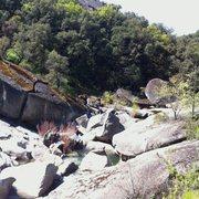 Rock Climbing Photo: Downstream view of Granite Cove.