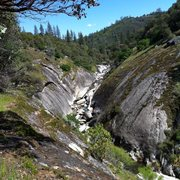 Rock Climbing Photo: Upstream from the climbing area. A lot of sick loo...