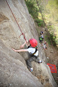 Rock Climbing Photo: Wesley Fienup (at 4 years old in this picture) cli...