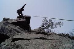 Rock Climbing Photo: Victory!  A clean run up.
