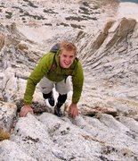 Rock Climbing Photo: Mt. Conness, North Ridge. Yay!