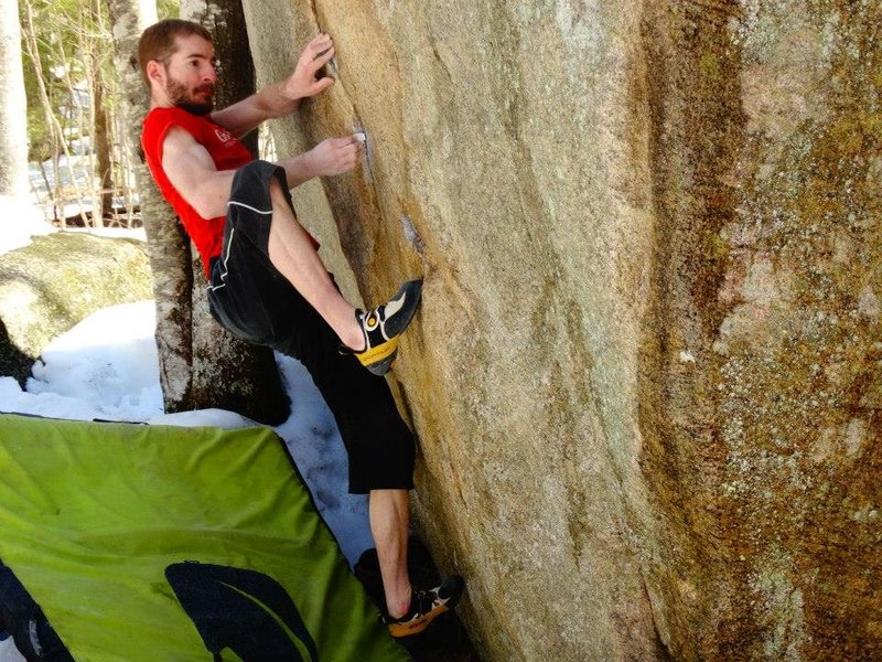 "Rock Climbing Photo: No ""tricks"" here"