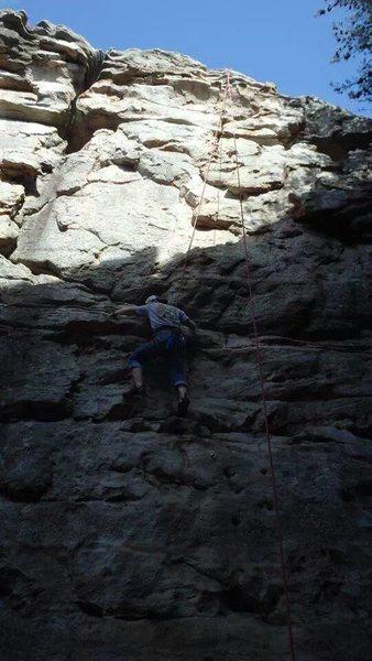 Rock Climbing Photo: Casey Ferguson TR That Eight