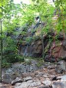 Rock Climbing Photo: Far left of the Good Book Wall.   1. Meryl's Crack...