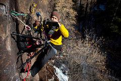 Rock Climbing Photo: Stabilize it