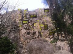 Rock Climbing Photo: Jumbled Buttress beta.