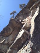 Rock Climbing Photo: Simon on Balrog