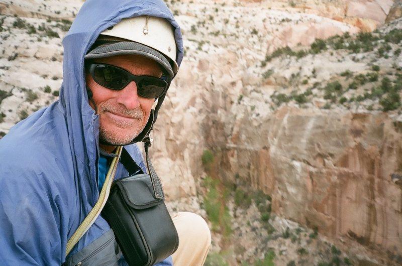 Rock Climbing Photo: Roy on top