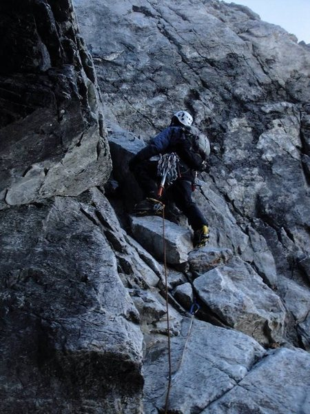 The start of pitch 3.