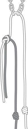 Preferred rapelling knots<br> by Chris Philpot