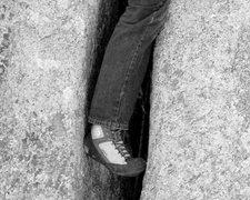 Rock Climbing Photo: Heel Toe Cam