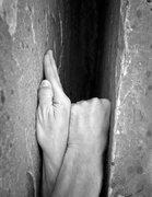Rock Climbing Photo: Hand Fist Stack