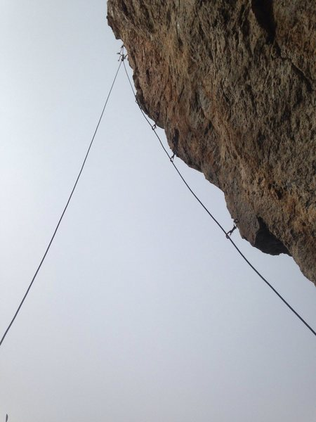 Rock Climbing Photo: Upper half of arête