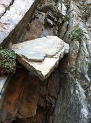 Rock Climbing Photo: If you see this death-chock you are in the right p...