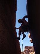 Rock Climbing Photo: skyler getting at it