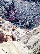 Rock Climbing Photo: MC following