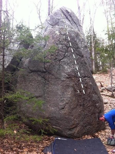 Rock Climbing Photo: 3. Nose Hairs, V2-.
