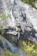 Rock Climbing Photo: Beautiful route, what it lacks in length it makes ...