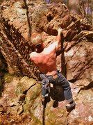 Rock Climbing Photo: Spring send of Happy Birthday Big Tom. Photo by Ch...
