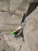 Rock Climbing Photo: Finger locking goodness.